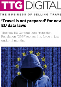 Tamite Secure IT TTG Article on GDPR June 2017